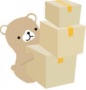 引越し荷物梱包